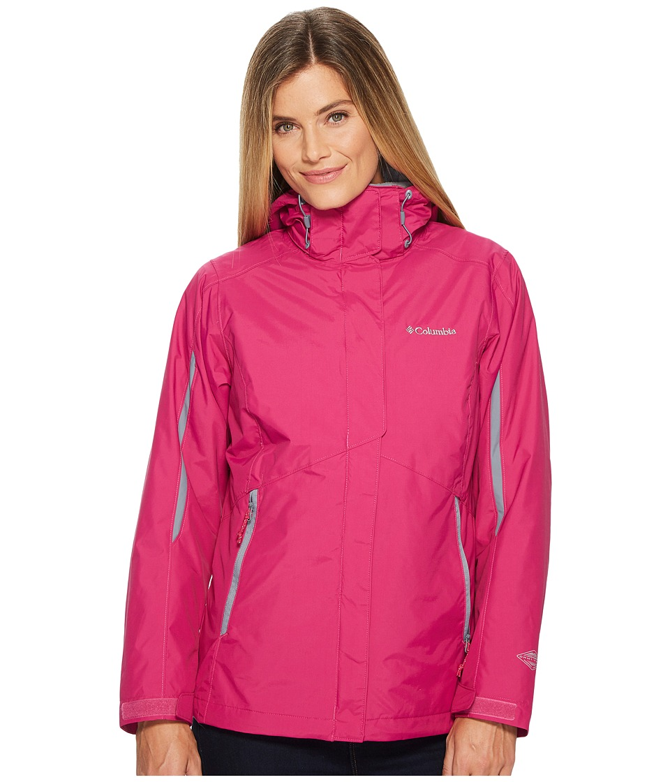 Columbia Bugabootm Interchange Jacket (Deep Blush/Grey Ash) Women