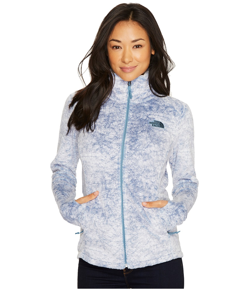 North Face Novelty Osito Jacket (Provincial Blue Marble P...