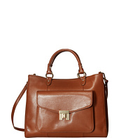 Tommy Hilfiger - Turnlock Convertible Shopper - Textile Leather