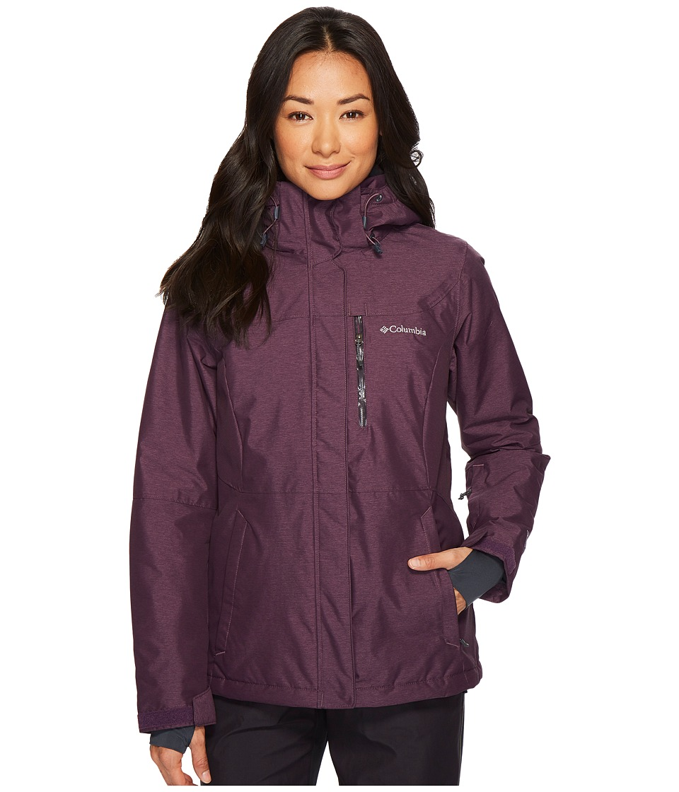 Columbia Alpine Actiontm Omni-Heattm Jacket (Dusty Purple Cross-Dye/India Ink) Women