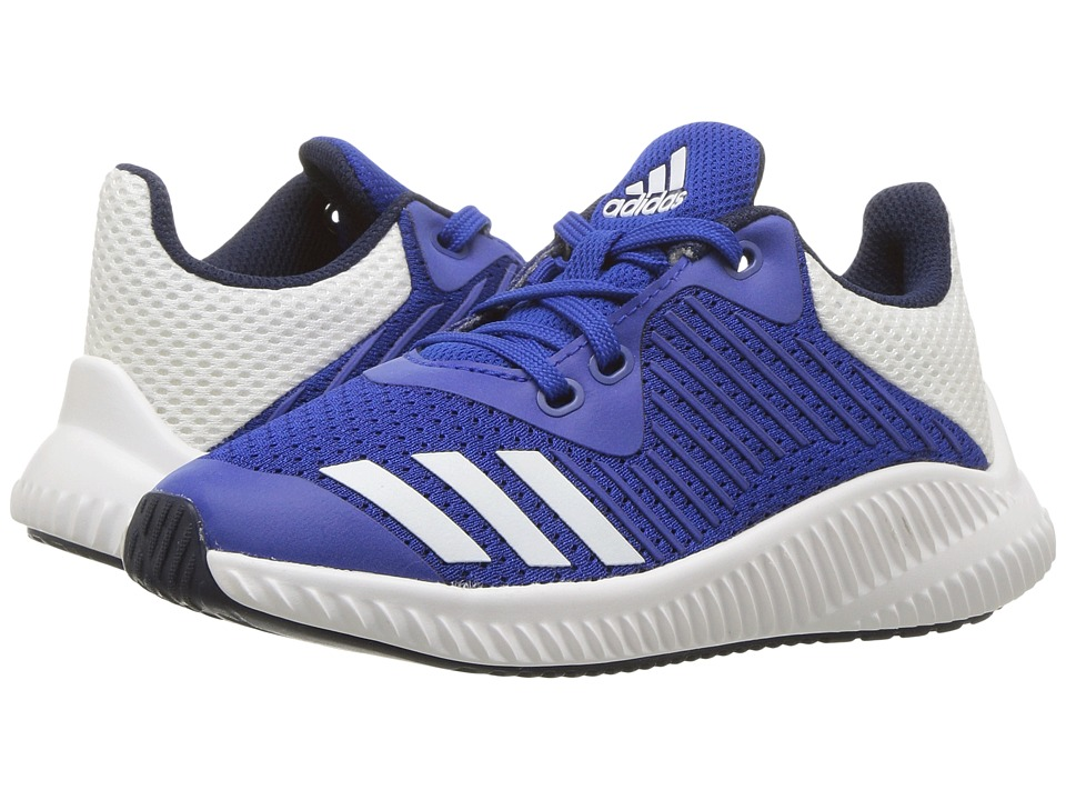 adidas Kids FortaRun K (Little Kid/Big Kid) (Collegiate Royal/Footwear White/Collegiate Navy) Boys Shoes