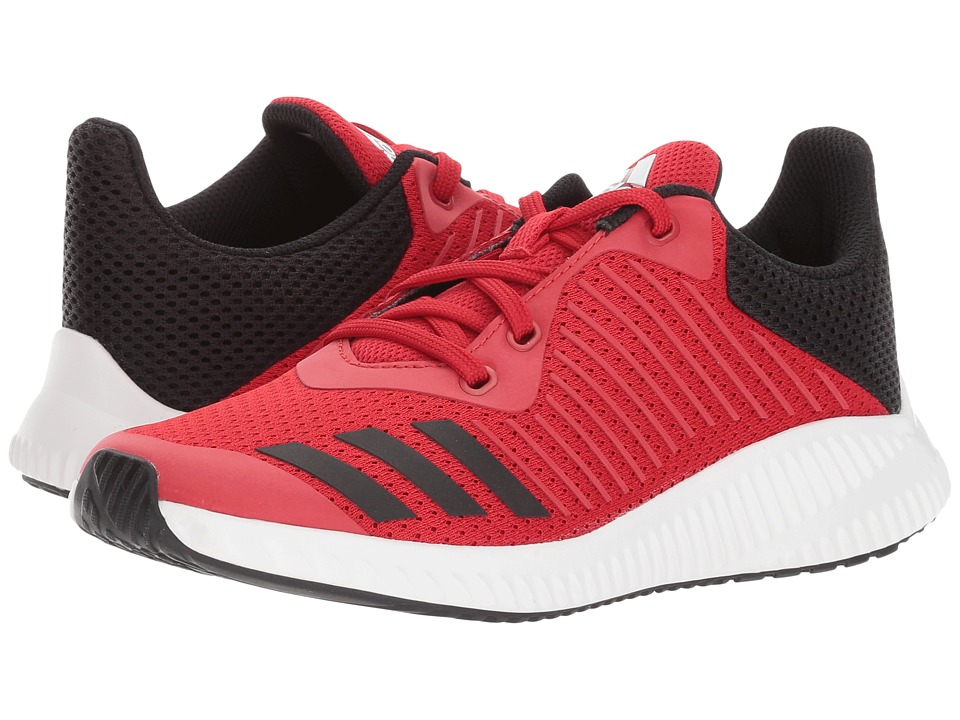adidas Kids FortaRun K (Little Kid/Big Kid) (Scarlet/Core Black/Footwear White) Boys Shoes