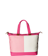 Tommy Hilfiger - Flag Color Block Top Zip Tote - Canvas
