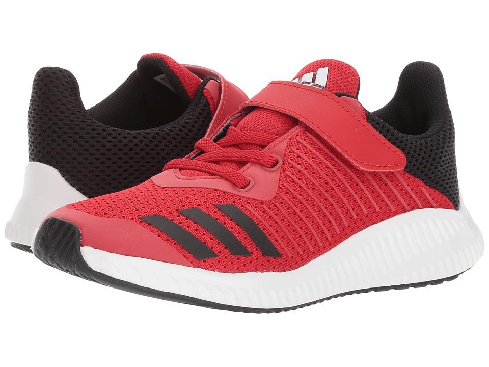 adidas Kids FortaRun EL K (Little Kid/Big Kid) (Scarlet/Core Black/Footwear White) Boys Shoes