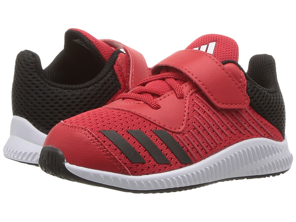 adidas Kids FortaRun EL I (Toddler) (Scarlet/Core Black/Footwear White) Boys Shoes