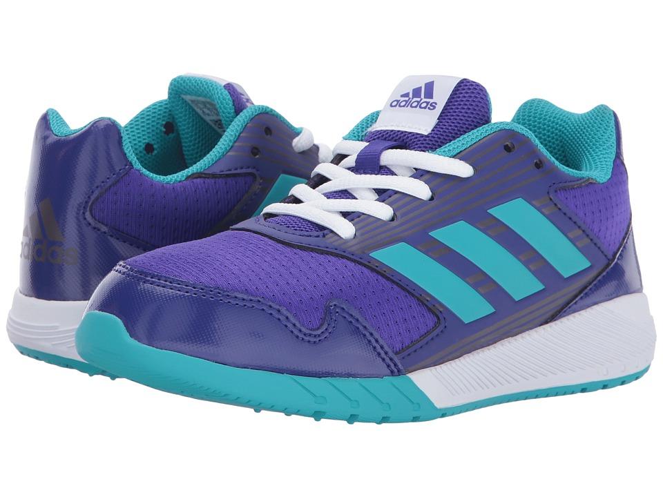 adidas Kids AltaRun K (Little Kid/Big Kid) (Energy Ink/Energy Blue/Purple Night Metallic) Girls Shoes