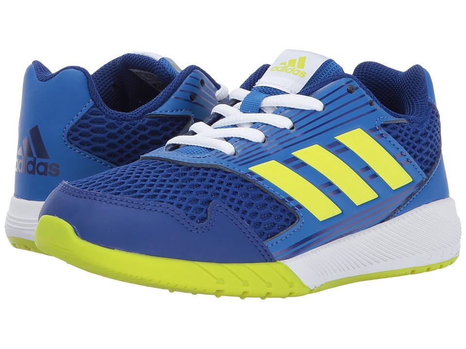 adidas Kids AltaRun K (Little Kid/Big Kid) (Mystery Ink/Semi Solar Yellow/Blue) Boys Shoes