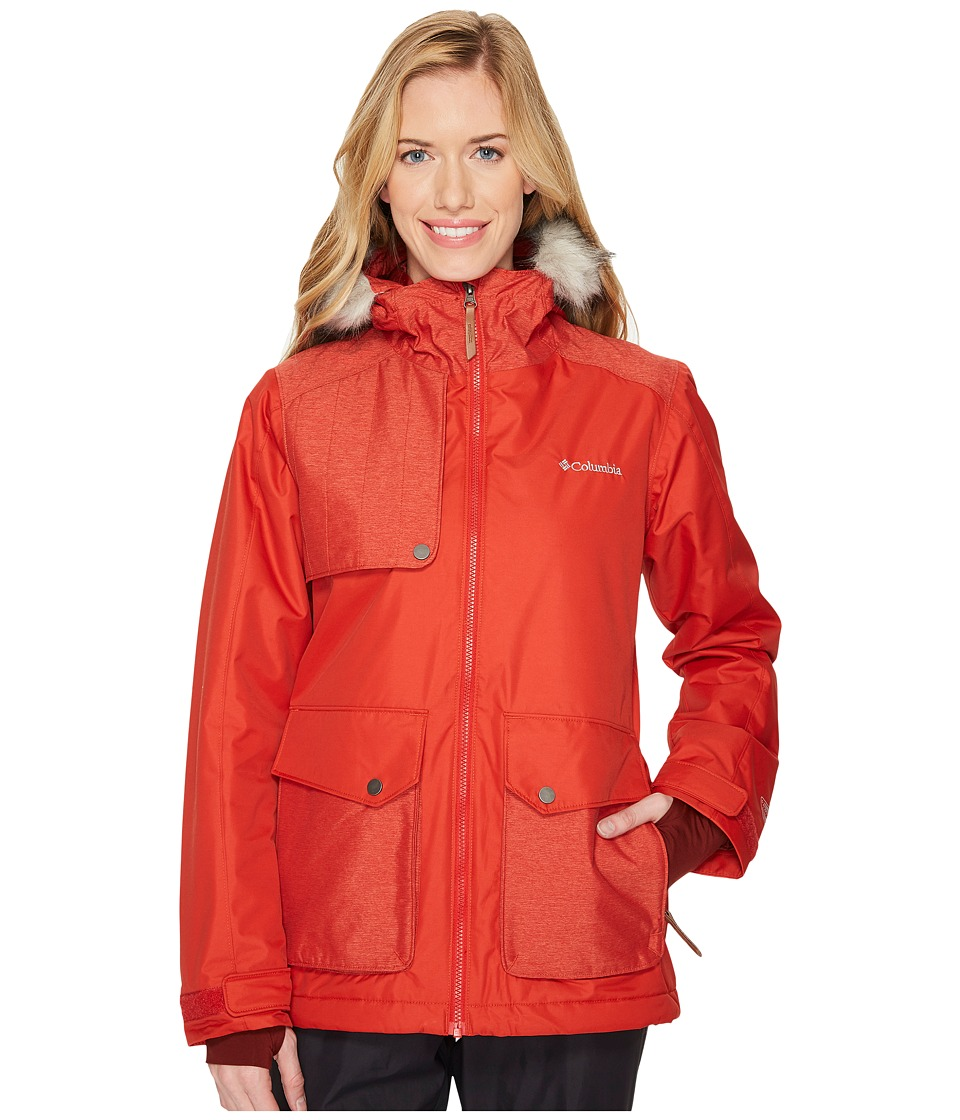Columbia Alpine Vista Jacket (Sail Red) Women