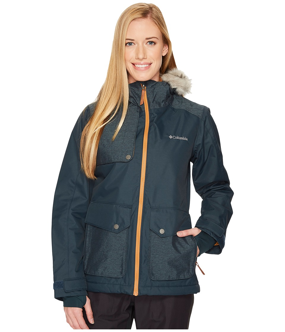 Columbia Alpine Vista Jacket (Night Shadow/Canyon Gold) Women