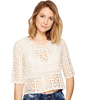 Jack by BB Dakota - Lalaina Crochet Lace Top