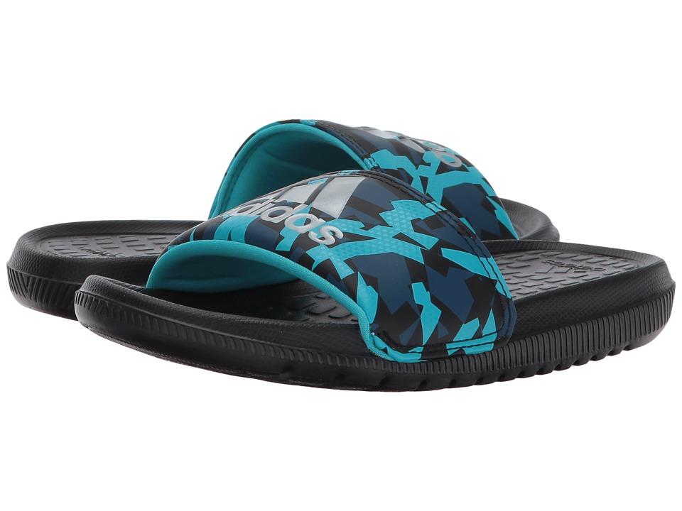 adidas Kids Voloomix xJ (Little Kid/Big Kid) (Core Black/Energy Blue/Blue Night) Kids Shoes