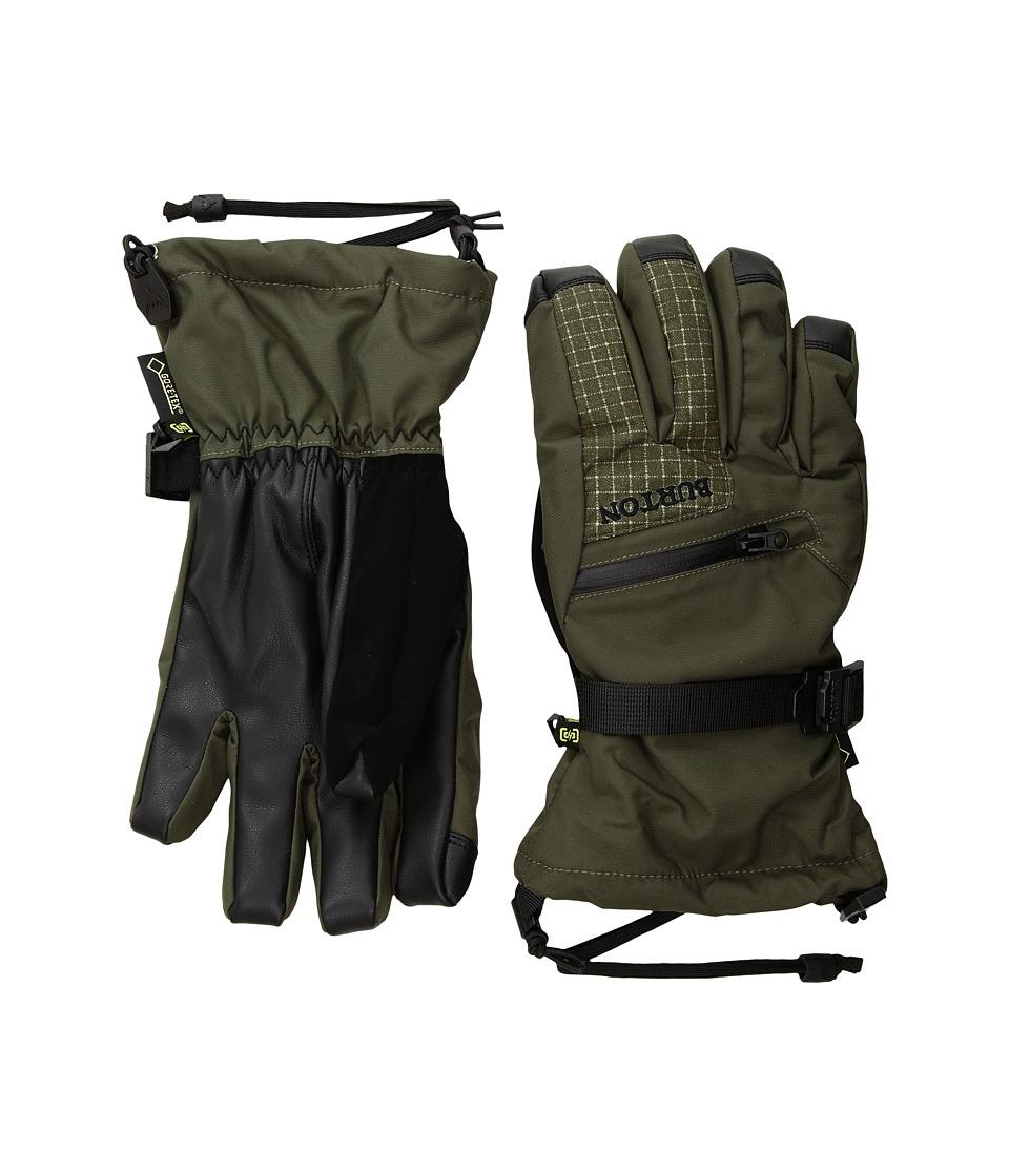 Burton GORE-TEX(r) Glove (Forest Ripstop/Forest Night) Snowboard Gloves
