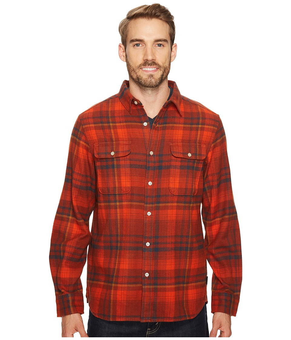 The North Face Long Sleeve Arroyo Flannel Shirt (Ketchup Red Plaid) Men