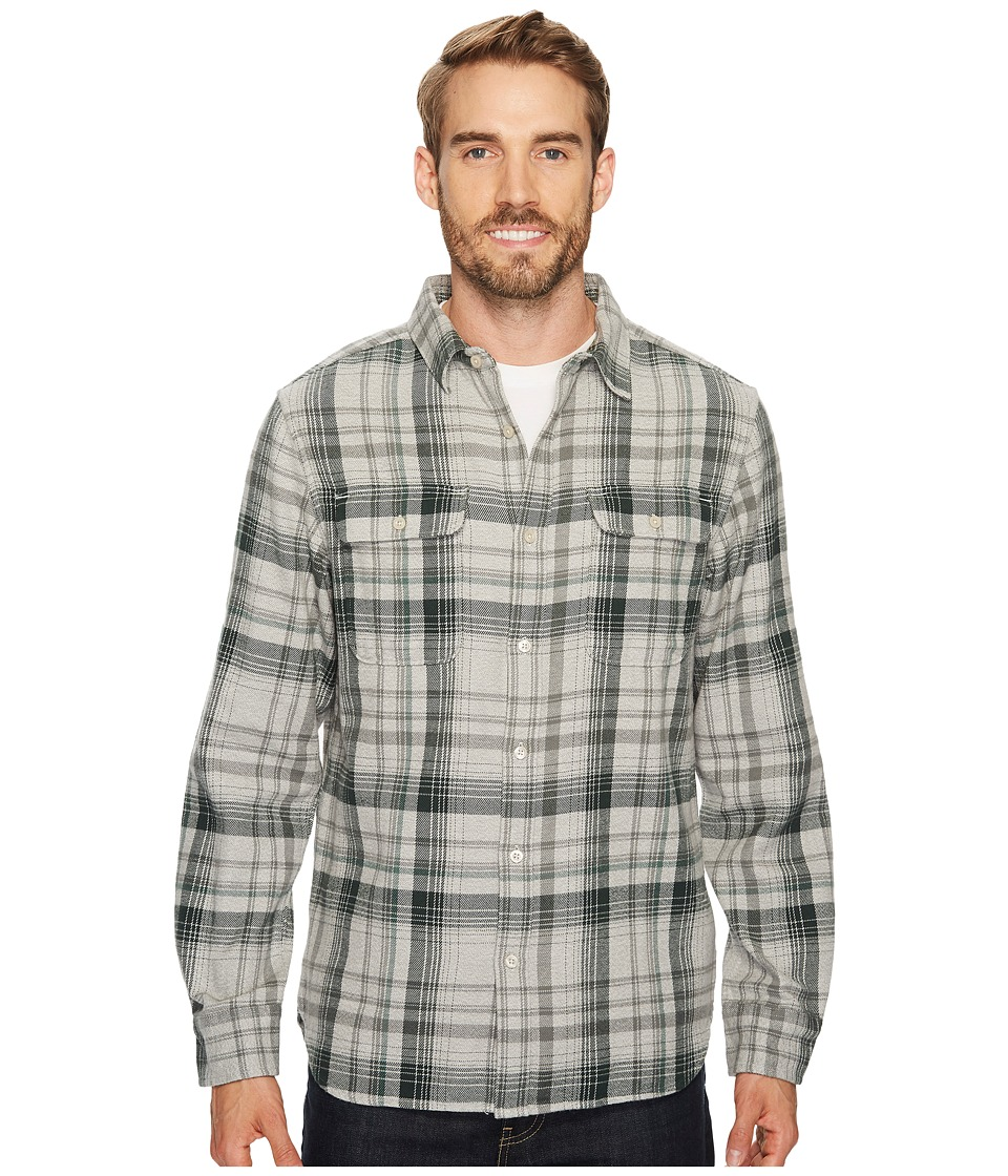 The North Face Long Sleeve Arroyo Flannel Shirt (High-Rise Grey Plaid) Men