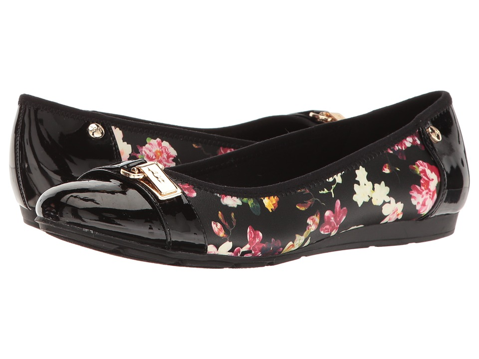 Anne Klein Able (Black Multi Synthetic (Fiji Floral)) Women