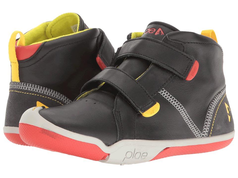PLAE Max (Little Kid/Big Kid) (Black) Boy's Shoes