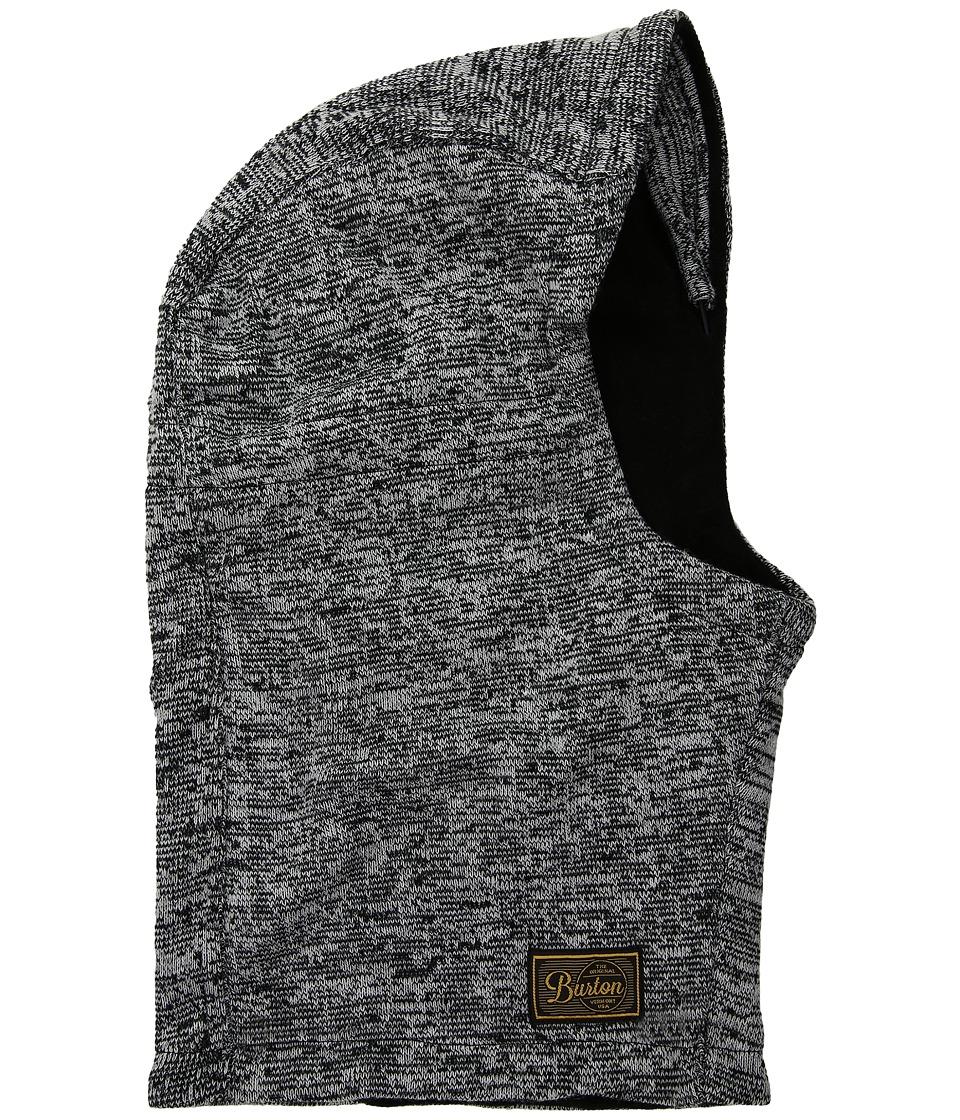 Burton - Hampshire Hood (True Black/Stout White Marl 1) Knit Hats