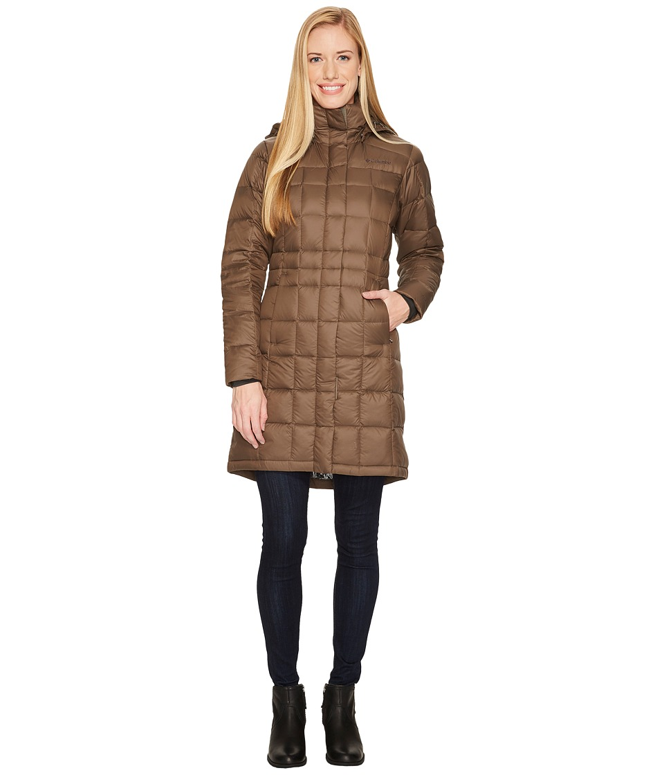 Columbia Hexbreakertm Long Down Jacket (Major) Women
