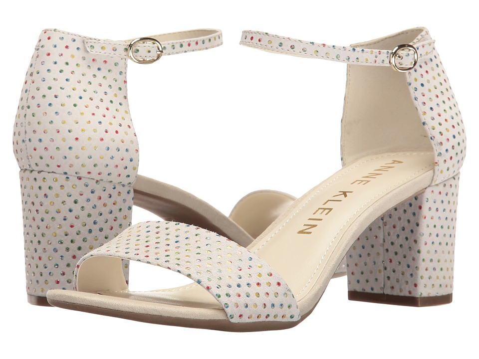 Anne Klein Camila (Off-White Multi Leather (Fiesta Dot)) Women