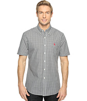 U.S. POLO ASSN. - Classic Fit Single Pocket Stripe, Plaid or Print Sport Shirt