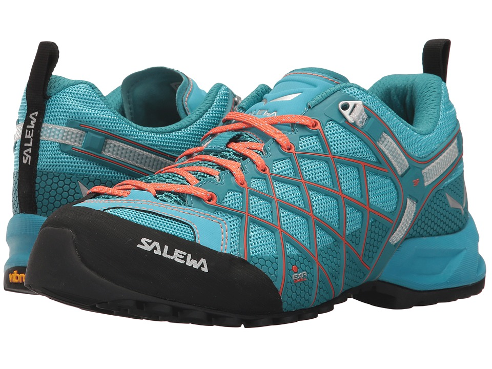 SALEWA Wildfire Vent (River Blue/Clementine) Women