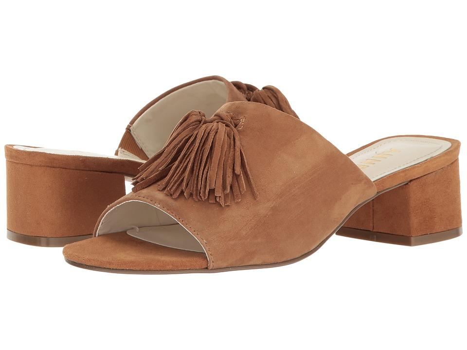 Anne Klein - Salome (Dark Natural Suede) Womens Shoes