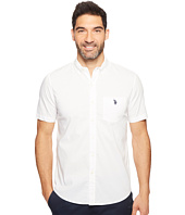 U.S. POLO ASSN. - Short Sleeve Single Pocket Slim Fit Solid Sport Shirt