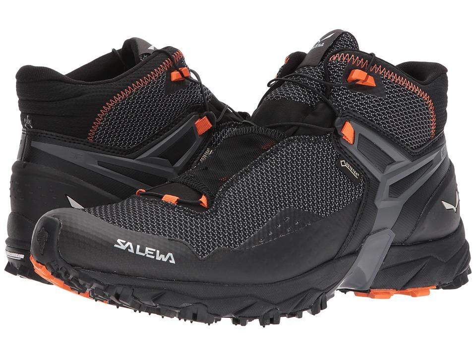 Salewa Ultra Flex Mid GTX (Black/Holland) Men's Shoes