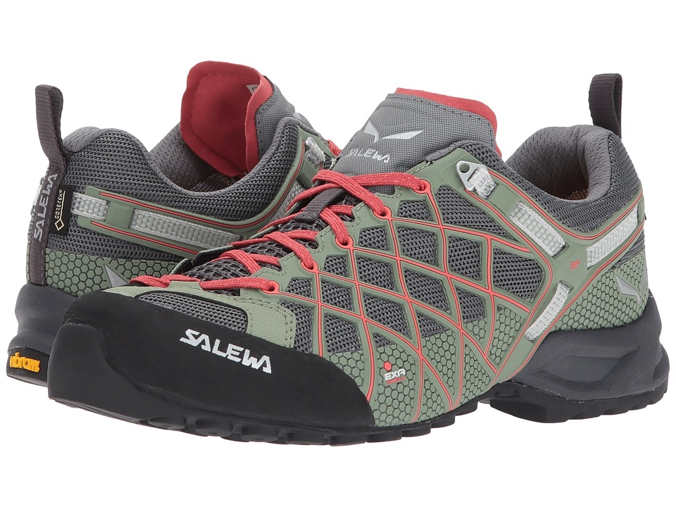 SALEWA Wildfire S GTX(r) (Magnet/Hot Coral) Women