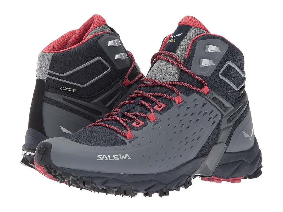 SALEWA Alpenrose Ultra Mid GTX (Night Black/Mineral Red) Women