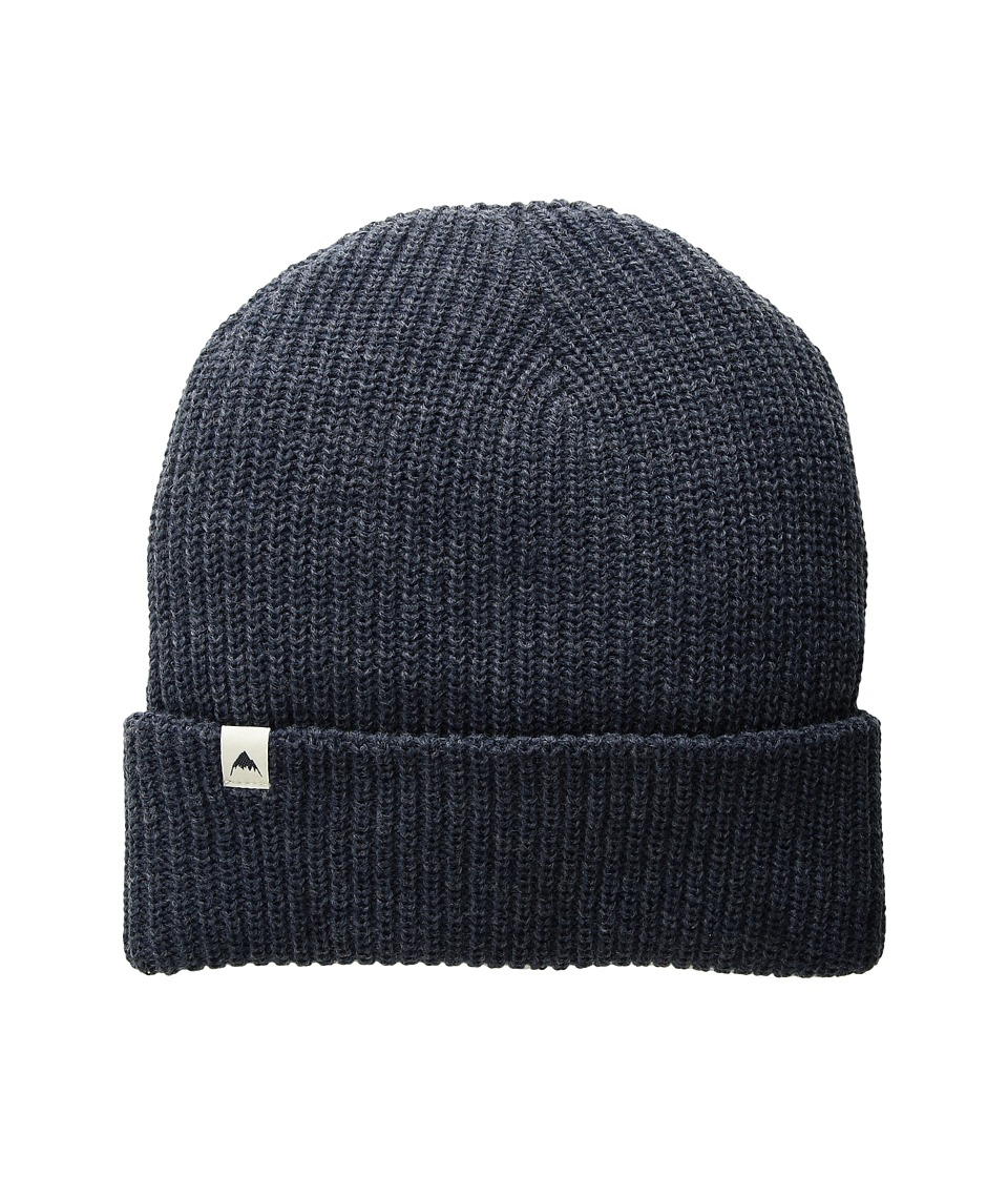 Burton - Truckstop Beanie (Mood Indigo Heather) Caps
