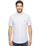 U.S. POLO ASSN. - Short Sleeve Classic Fit Single Pocket Solid Sport Shirt
