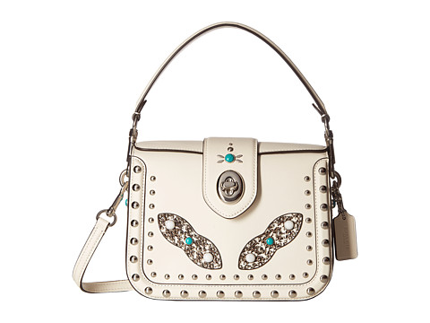 COACH Western Rivets Page Crossbody