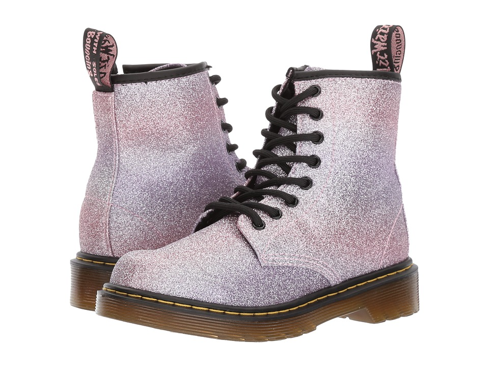 Dr Martens Delaney Glitter (Little Kid/Big Kid) (Pink Gli...