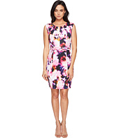 Ellen Tracy - Floral Print Scuba Dress