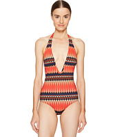 Paul Smith - No 9 Print Halter Swimsuit