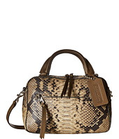 COACH - Bleecker Python Small Toaster Satchel