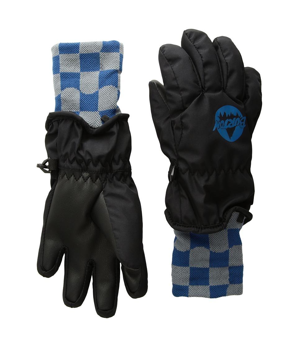 Burton Minishred Gloves (Toddler) (True Black) Snowboard Gloves