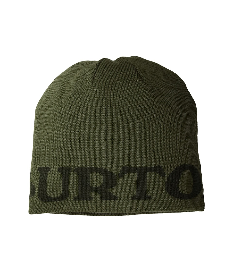 Burton - Billboard Beanie (Little Kids/Big Kids) (Olive Branch/Forest Night) Beanies
