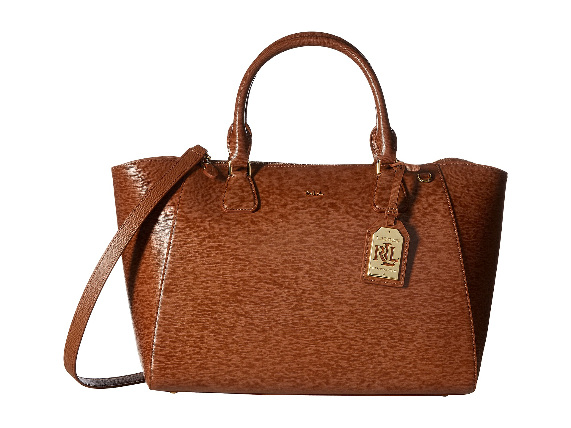 Ralph Lauren Käsilaukku : Lauren ralph newbury stefanie satchel zappos