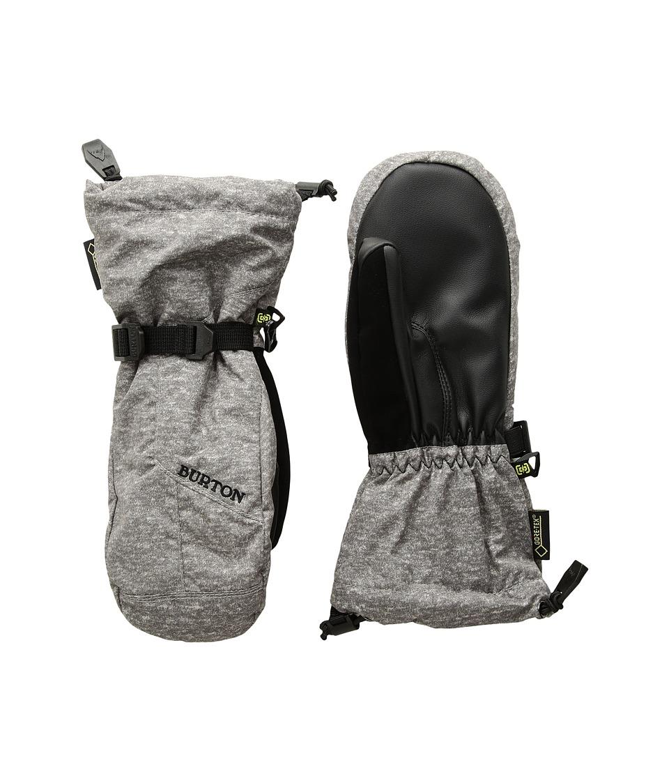 Burton GORE-TEX(r) Mitt (Little Kids/Big Kids) (Monument Heather) Snowboard Gloves