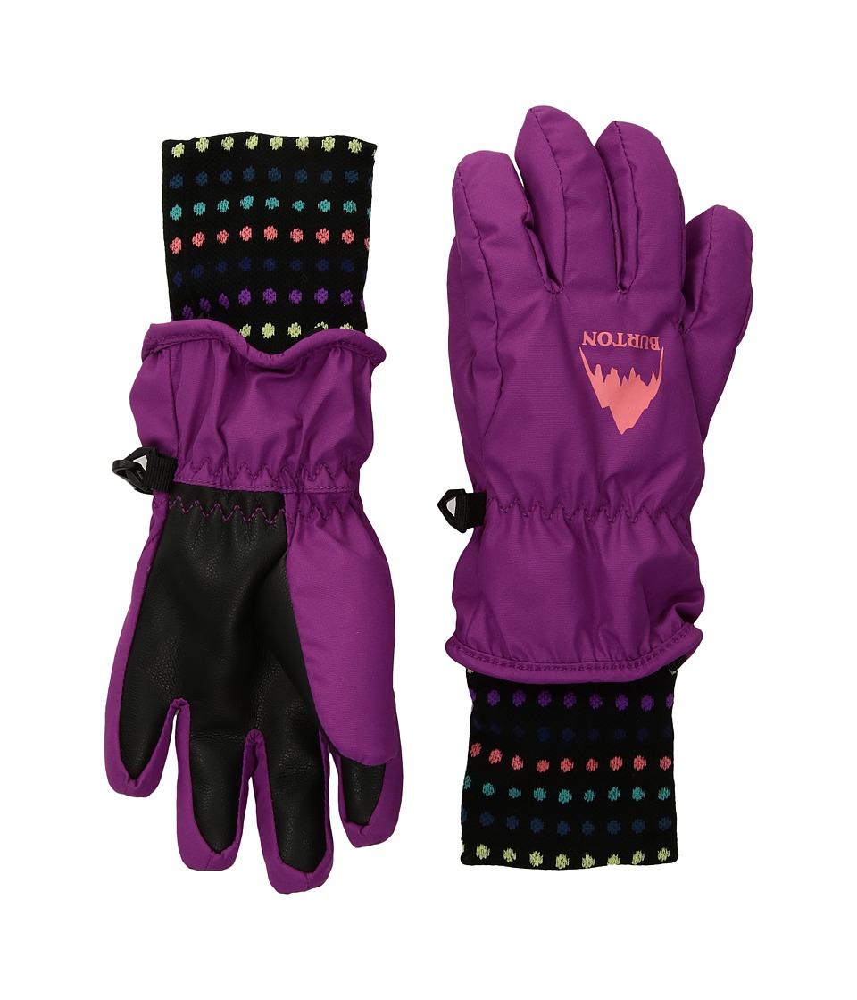 Burton Minishred Gloves (Toddler) (Grapeseed) Gore-Tex Gloves
