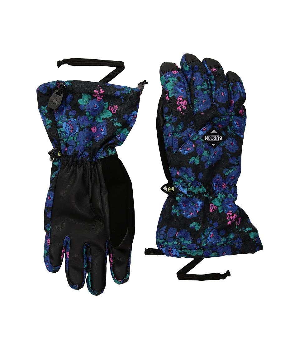 Burton Profile Gloves (Little Kids/Big Kids) (Pop Floral) Gore-Tex Gloves