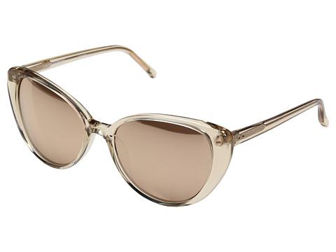Linda Farrow Luxe LFL517C4SUN Rose Gold Sunglasses - Ash/Rose Gold/Rose Gold