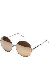 Linda Farrow Luxe - LFL343C6SUN Rose Gold Round Sunglasses