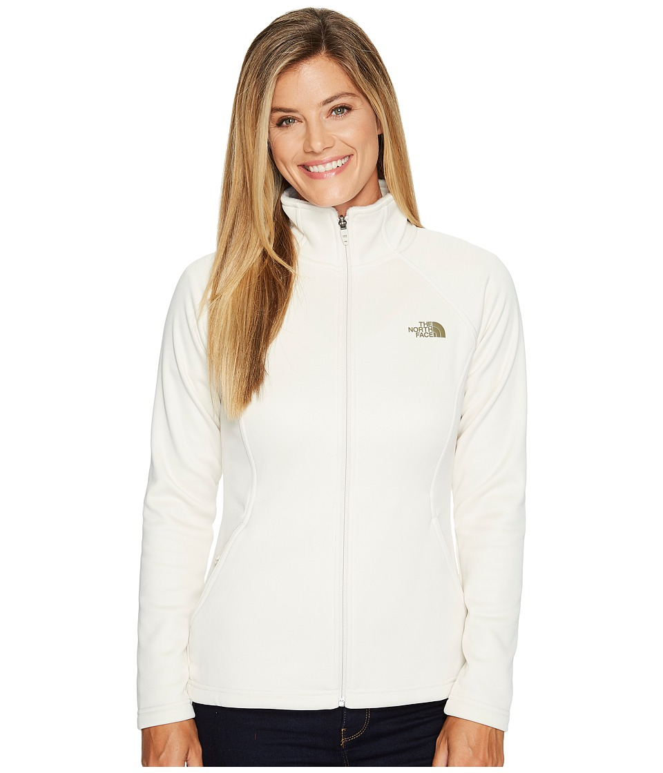 The North Face Agave Full Zip (Vintage White) Women