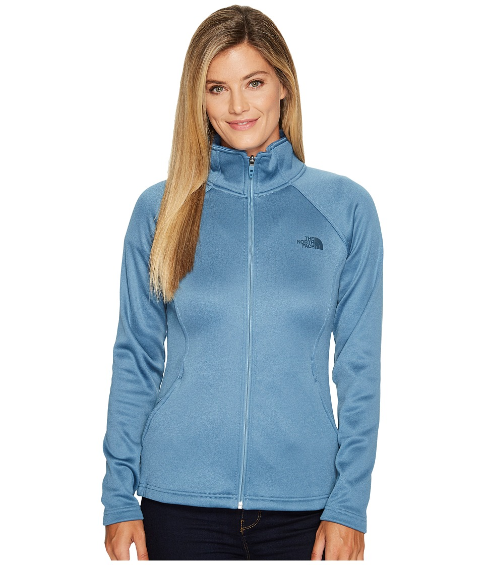 The North Face Agave Full Zip (Provincial Blue) Women