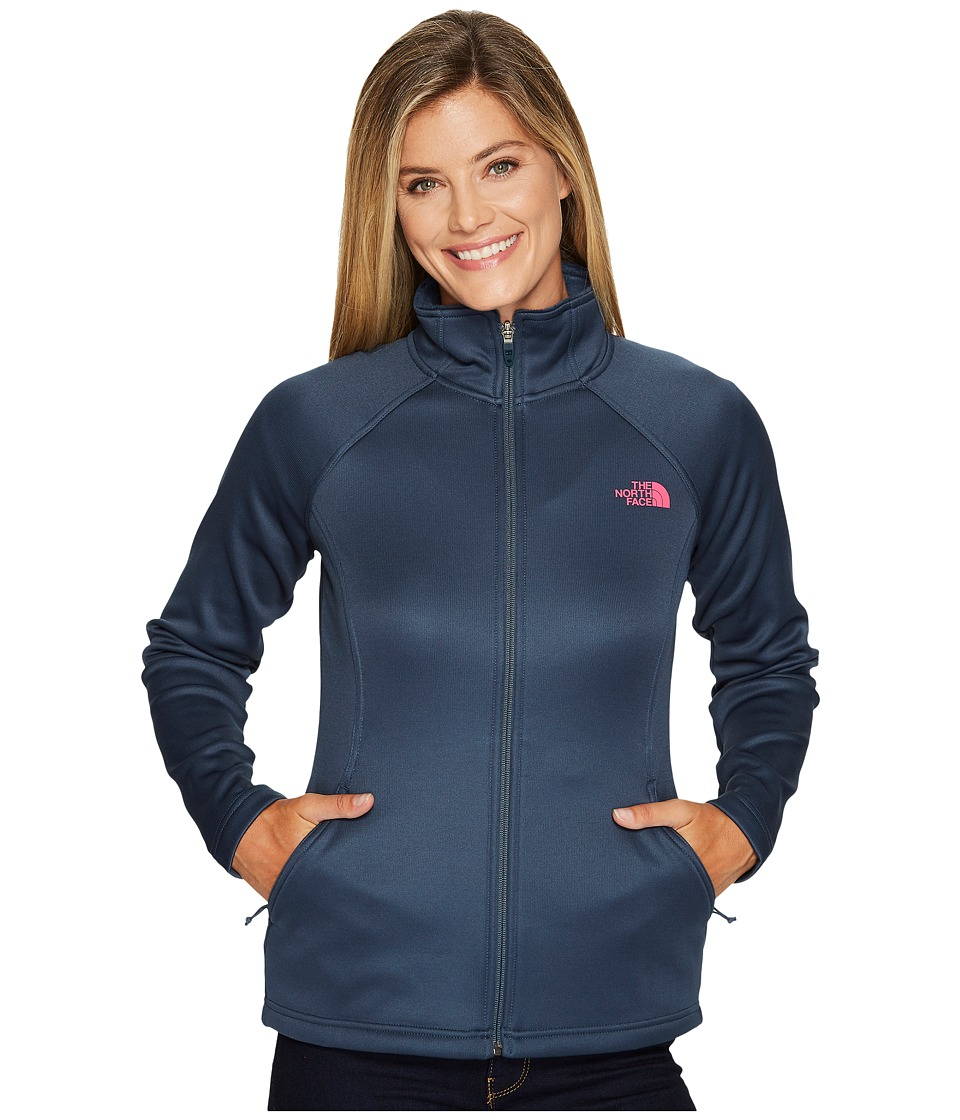 The North Face Agave Full Zip (Ink Blue) Women