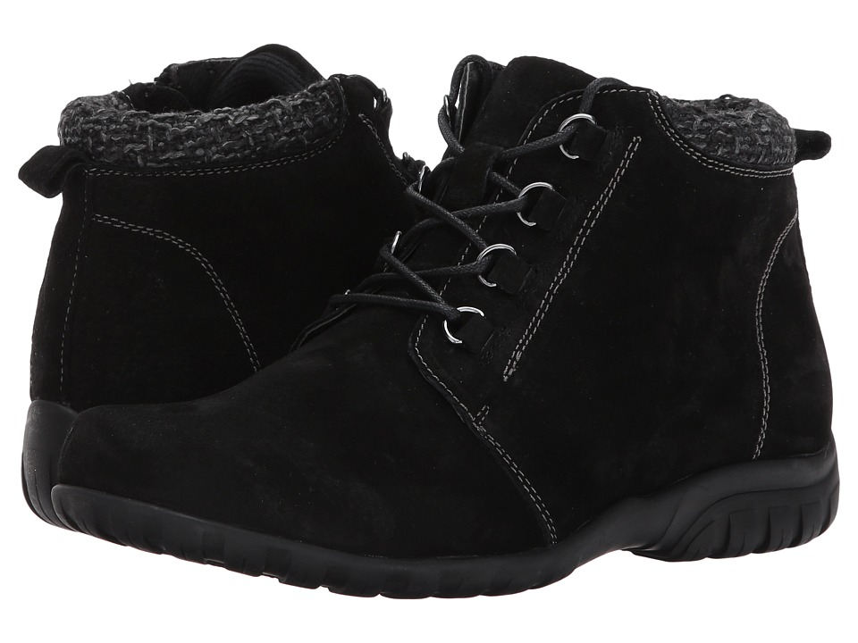 Propet Delaney (Black Suede) Women