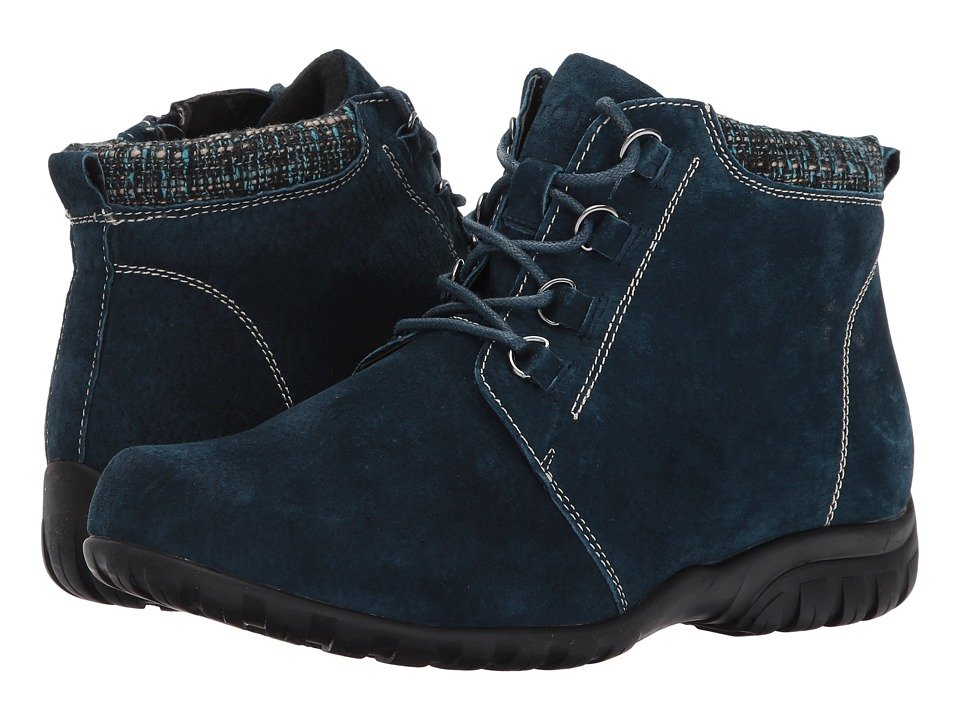 Propet Delaney (Navy Suede) Women